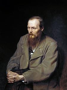 Portrait of the Writer Fyodor Dostoyevsky by Vasily Perov