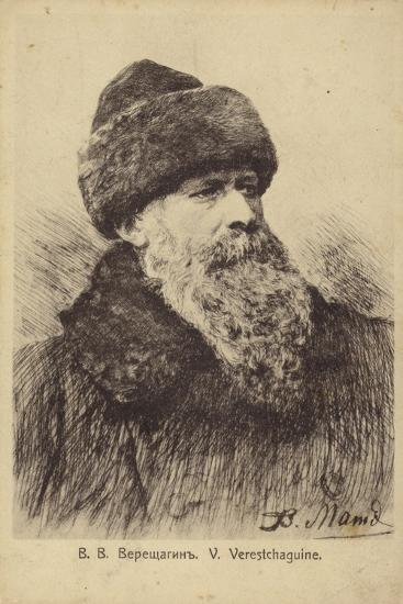 Vasily Vereshchagin, Russian Artist--Giclee Print