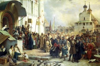 The Siege of the Trinity Sergius Lavra in Sergiev Posad, 1891