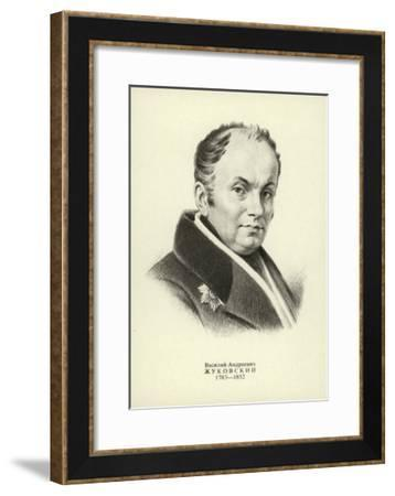 Vasily Zhukovsky, Russian Poet--Framed Giclee Print