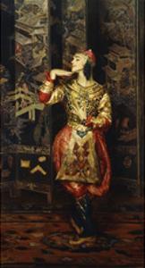 Vaslav Nijinsky in Danse Orientale