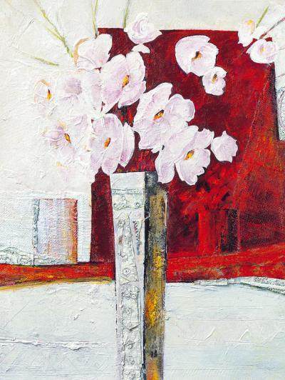Vaso con Fiori I-Berenice Ricca-Art Print