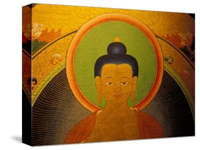 Buddha on a Thanka Painting, Tibet