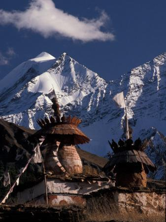 Chortens at Dolpo, Nepal