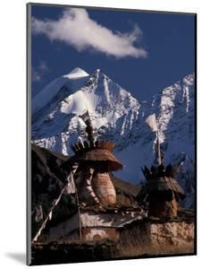 Chortens at Dolpo, Nepal by Vassi Koutsaftis