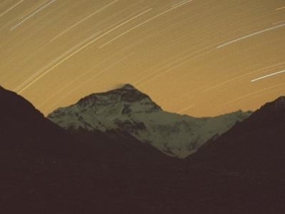 Mt. Everest with Stars, Tibet