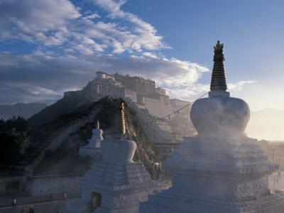Potala at Sunrise, Lhasa, Tibet