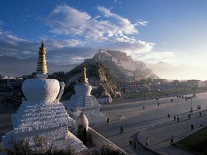 Potala at Sunrise, Lhasa, Tibet by Vassi Koutsaftis
