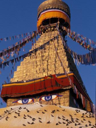 Swayanbunath, Kathmandu, Nepal