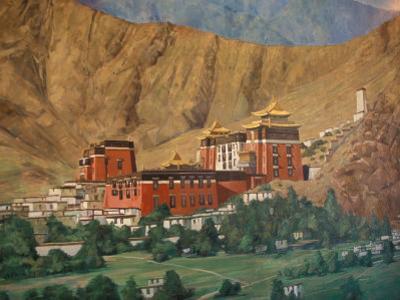 Tashilumpo Wall Painting, Tibet
