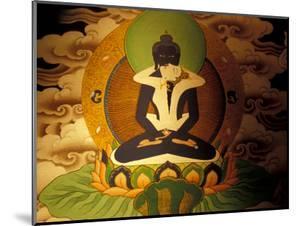 Thanka Painting, Tibet by Vassi Koutsaftis
