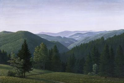 Vast Forest Landscape, 1937-Georg Schrimpf-Giclee Print