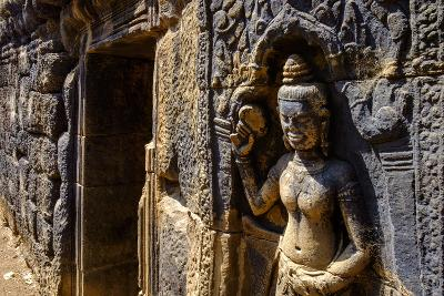 Vat Nokor, Angkorian Sanctuary Dated 11th Century, Kompong Cham (Kampong Cham), Cambodia, Indochina-Nathalie Cuvelier-Photographic Print