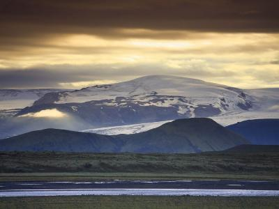 Vatnajokull Icecap Glacier, South Iceland-Michele Falzone-Photographic Print