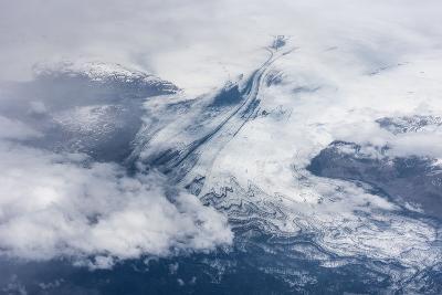Vatnajškull, Glacier from Above-Catharina Lux-Photographic Print