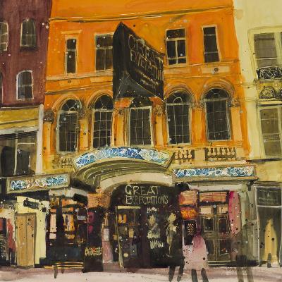 Vaudeville Theatre - London-Susan Brown-Art Print