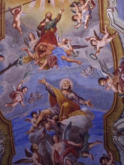 Vault Frescoes-Giuseppe Mattia Borgnis-Giclee Print