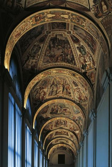 Vault from First-Floor Gallery, Lateran Palace, Rome, Vatican City, Italy, 16th Century--Giclee Print