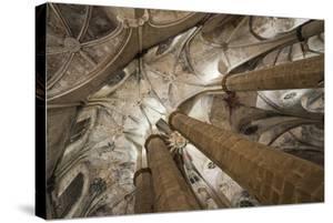 Vault in Santa Maria del Mar in Barcelona, Catalonia, Spain