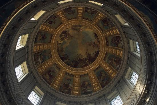 Vault of Dome of Cathedral, Hotel Des Invalides--Giclee Print