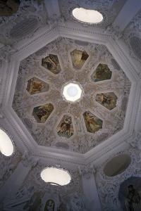 Vault of Prague Chapel at Svatá Hora