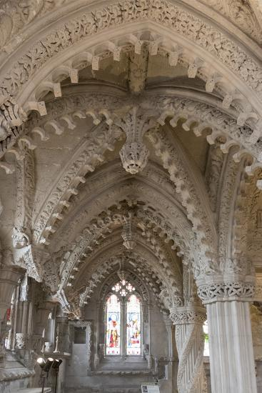 Vaulting in Rosslyn Chapel, Roslin, Midlothian, Scotland, United Kingdom-Nick Servian-Photographic Print