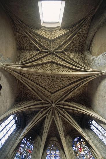 Vaults of Chapel of Chateau De Chambery, Rhone-Alpes, France--Giclee Print