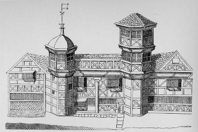 Vaux Hall Manor House, c1813, (1912)--Giclee Print