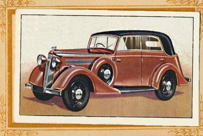 'Vauxhall Big Six Wingham Cabriolet', c1936-Unknown-Framed Giclee Print