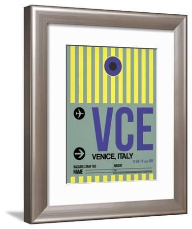 VCE Venice Luggage Tag I-NaxArt-Framed Art Print