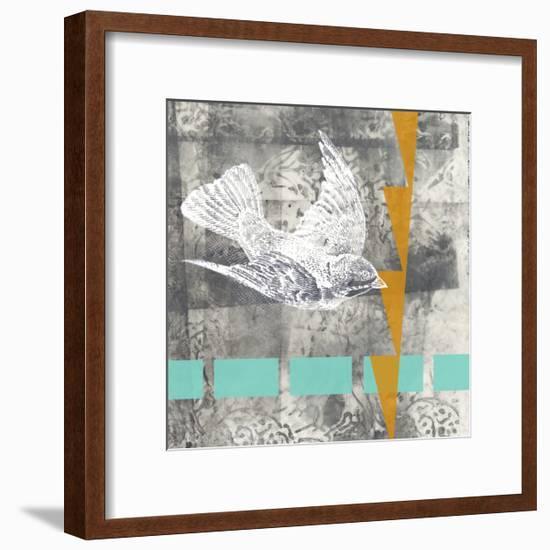 Vector I-Jennifer Goldberger-Framed Art Print
