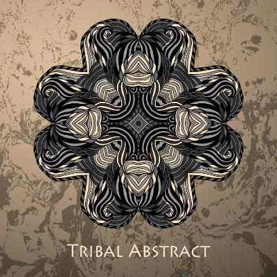 Vector Tribal Abstract Element for Design and Decor.-Kakapo Studio-Art Print