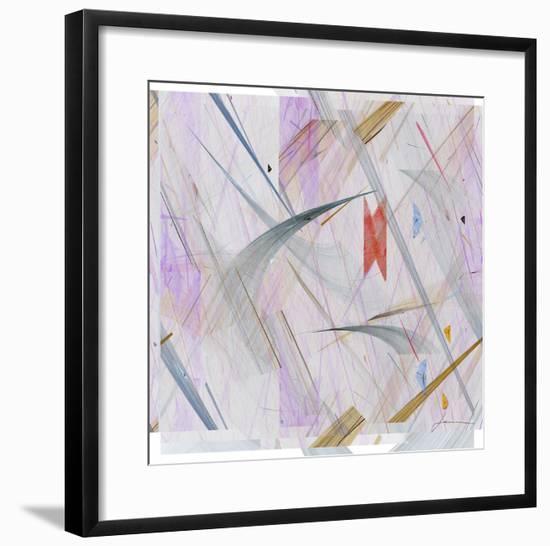 Vectora Panel IV-James Burghardt-Framed Giclee Print