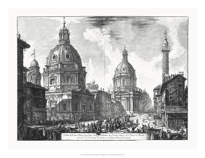Veduta della du Chiese della Madonna-Piranesi-Giclee Print