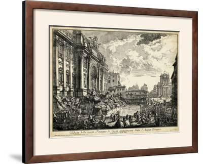 Veduta Della Vasta Fontana Di Trevi-Piranesi-Framed Photographic Print