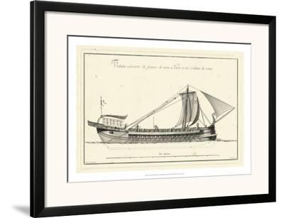 Veduta di Palmi Napoletani II-Pietro La Vega-Framed Art Print