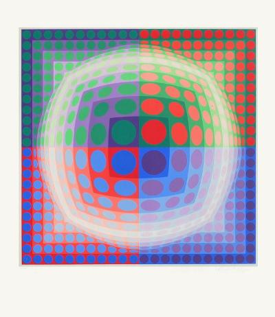 Vega-PAL-Victor Vasarely-Limited Edition