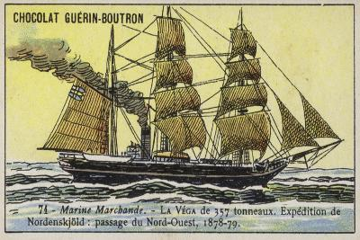 Vega, Ship Used on Adolf Erik Nordenskiold's Expedition to the Northwest Passage, 1878-1879--Giclee Print