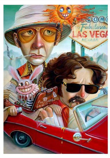 Vegas Bound-Leslie Ditto-Art Print