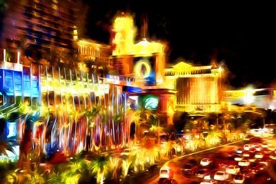 Vegas Palace - In the Style of Oil Painting-Philippe Hugonnard-Giclee Print