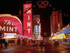 Vegas Strip Lights 1973