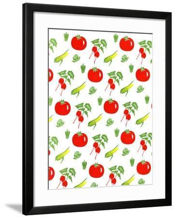Vegetable Paper--Framed Art Print