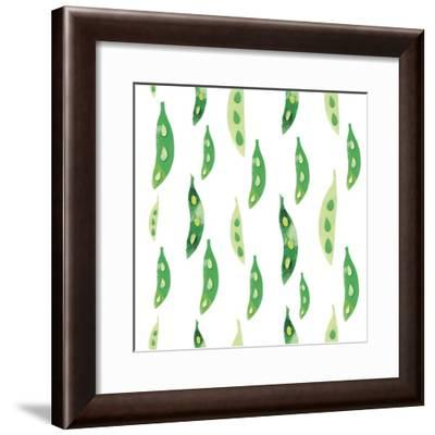 Vegetable Pattern 1-Summer Tali Hilty-Framed Giclee Print