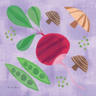 Veggie Time III-Farida Zaman-Art Print