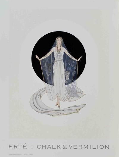 Veil Gown-Erte-Collectable Print