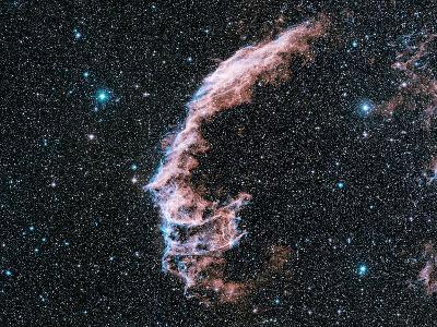 Veil Nebula Supernova Remnant-Davide De Martin-Photographic Print