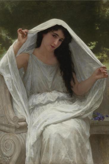Veil-William-Adolphe Bouguereau-Giclee Print