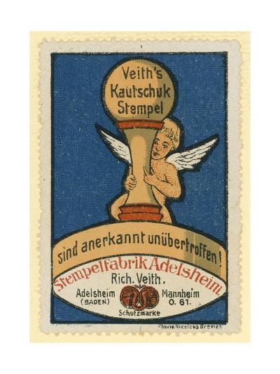 Veith's Rubber Stamps--Giclee Print