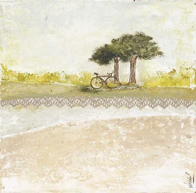 Vélo-V?ronique Didier-Laurent-Art Print