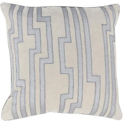 Velocity Down Fill Pillow - Silver--Home Accessories